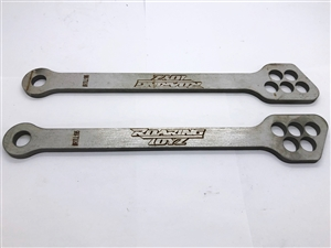 5 Hole Billet Lowering Link 195MM Stainless Steel