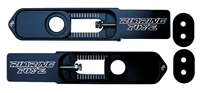 03-07 SV1000S Swingarm Extensions Black Anodized