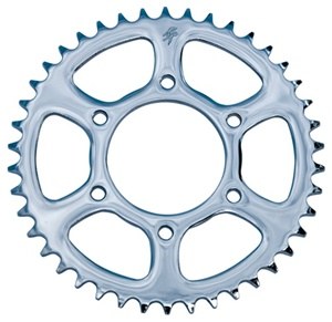 43 Tooth Performance Machine Steel Chrome 530 Rear Sprocket