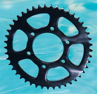 45 Tooth Performance Machine Steel Black 530 Rear Sprocket