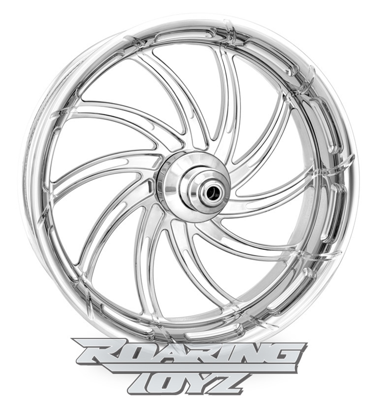 Supra Chrome Plated Forged Aluminum Performance Machine