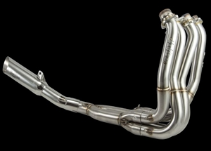08-18 Hayabusa VooDoo Polished Full 4-2-1 Low Exit Exhaust System