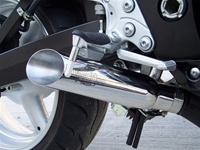 01-07 Hayabusa VooDoo Polished Slip-On Exhausts