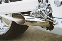 08-18 Hayabusa VooDoo Polished Slip-On Exhausts