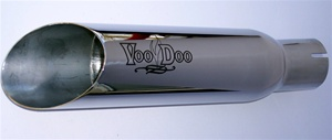 01-04 GSXR 1000 VooDoo Polished Slip-On Exhaust