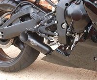 98-03 Yamaha R1 VooDoo Black Slip-On Exhaust