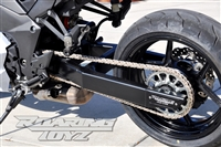 Ninja 1000 Z1000 ABS Kawasaki Custom Built Extended Swingarm Stretched Racing Performance 0-18 Over Underbraced Kawasaki Ninja Billet Roaring Toyz Adjustable Dragrace Drag NOS Chrome 2010 2011 2012 2013 2014 2015 2016 2017
