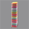 Scrapbook Paper Rack Tower Organizer Storage