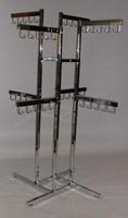 16 Inch Arms 4 Way Handbag Display Rack