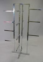 4 Way Folding Lingerie Display Rack