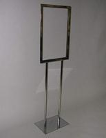 Bulletin Sign Holder Flat Base