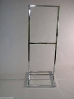 Bulletin Sign Holder W X H 3 Tier Open Base