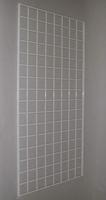 2 ft x 4 ft White Grid Wall Panel 3 OC Lot of3