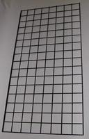 2 ft x 5 ft Black Grid Wall Panel 3 OC Lot of3