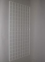 2 ft x 5 ft White Grid Wall Panel 3 OC Lot of3