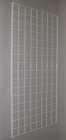 2 ft x 6 ft White Grid Wall Panel 3 OC Lot of3