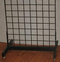 24 Wide Deluxe Single Grid Base Black Lot of1