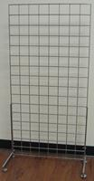 24 Wide Deluxe Single Grid Base Chrome Lot of1