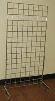 Sets of2 Grid Gridwall Panel Legs Lot of5
