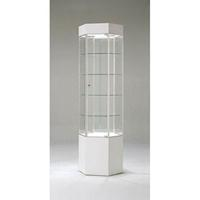 Tower Display Shelves Cabinet Showcase Retail