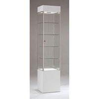 Trophy Cabinet With Glass Doors Square Tower