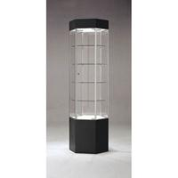 Tower Display Glass Showcase Retail Fixture US Made