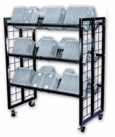 Inventory Return Utility Cart Store Display