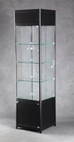 Retail Jewelry Display Showcase Lighted Tower