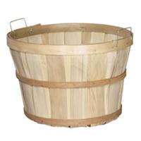 Natural Wood Basket Retail Display USA Made