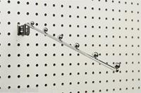 Pegboard Slatwall 6 Ball Waterfall Hanger