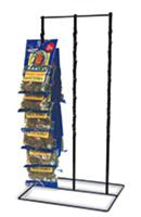 Countertop Wire Clipper 3 Rows 39 Clips Rack