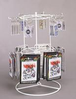 12 Peg Countertop Spinner Rack