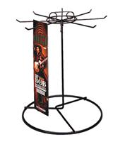 8 Peg Long Product Counter Spinner Display Rack