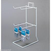 4 PEG Tall COUNTER RACK 2 TIERS