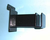 Hangrail Slatwall Bracket Holds Rectangular Tube