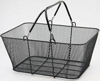 Shopping Basket Cart Wire Mesh Market Gift Shop