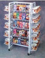 Grid Gridwall Rolling 20 Shelf