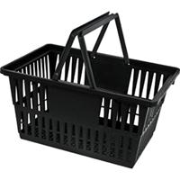 Retail Shopping Cart Recycled Plastic Basket