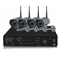 Theft Protection DVR Outdoor Surveillance Security