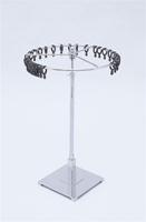 Wheel Revolving Scarf Stand With 10 Inch Base