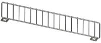 "Wire Front Fencing US Made - 11""L X 3"" H- Chrome"