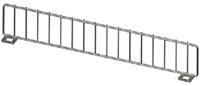 """Wire Front Fencing US Made - 13""""L X 3"""" H- Chrome"""