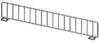 "Wire Front Fencing US Made - 15""L X 3"" H- Chrome"