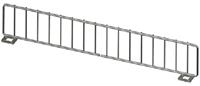 "Wire Front Fencing US Made - 17""L X 3"" H- Chrome"