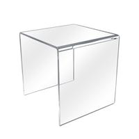 Individual 10 Inch Clear Acrylic Display Cube