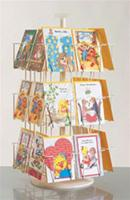 24 Pockets Greeting Card Counter Rack