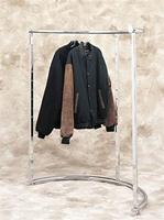 42 Inch Adjustable Half Round Clothing Rack