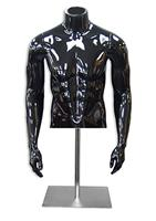 Male Fiberglass Torso Dress Form Retail Fashion