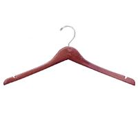 17 Notched Wood Shirt And Blouse Hanger Walnut