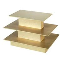 Maple Table 3 TIER Level Merchandise Knockdown